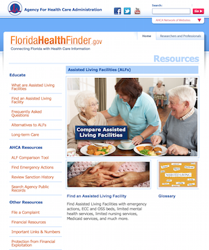 Florida launches new assisted living community comparison tool