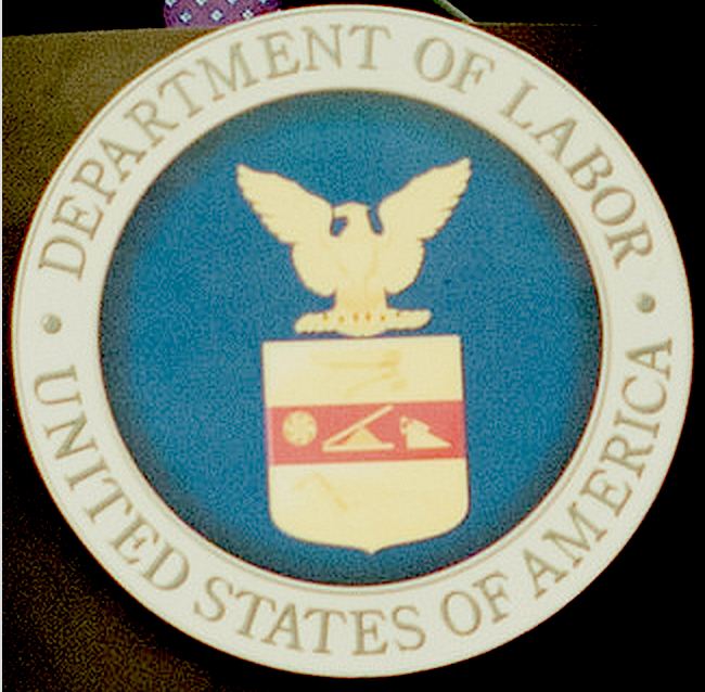 U.S. Department of Labor seal