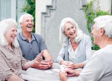 Friendships help inoculate residents against mental decline