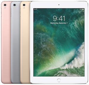 The 9.7-inch iPad Pro (photo courtesy of Apple).