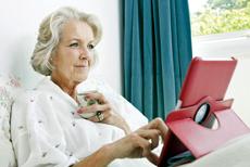 Tablets making seniors more tech savvy