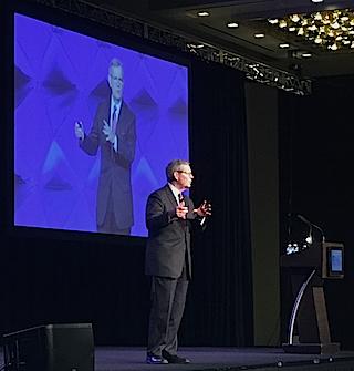 Former Utah Gov. Michael Leavitt, founder and chairman of Leavitt Partners.