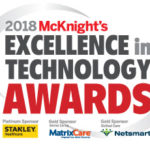 McKnight's 2018 Excellence in Technology Awards logo