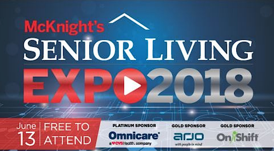 McKnight's Senior Living 2018 Online Expo logo