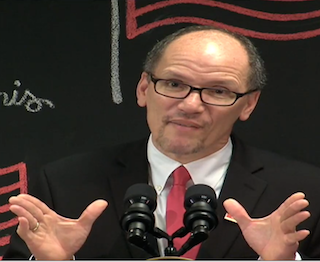 Secretary of Labor Thomas E. Perez discusses the final overtime rule.