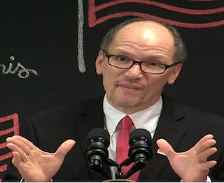 Secretary of Labor Thomas E. Perez discusses the final overtime rule.