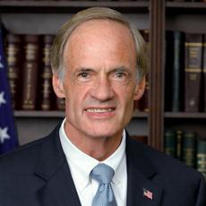 Tom Carper, U.S. Senator for Delaware