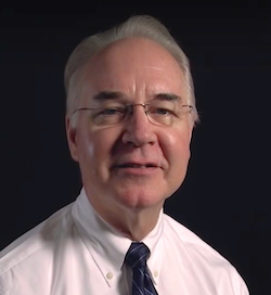 Rep. Tom Price (R-GA) is President-elect Donald J. Trump's nominee for HHS secretary.