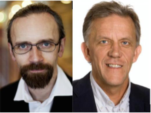 Henrik Zetterberg, M.D., Ph.D., left, and Kaj Blennow, M.D., Ph.D.