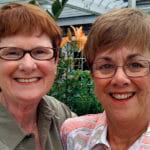 Mary Walsh and Bev Nance hedshot