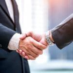 Merger, handshake
