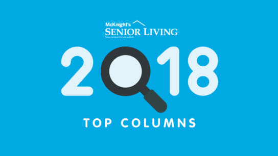 McKnight's Senior Living Top Columns