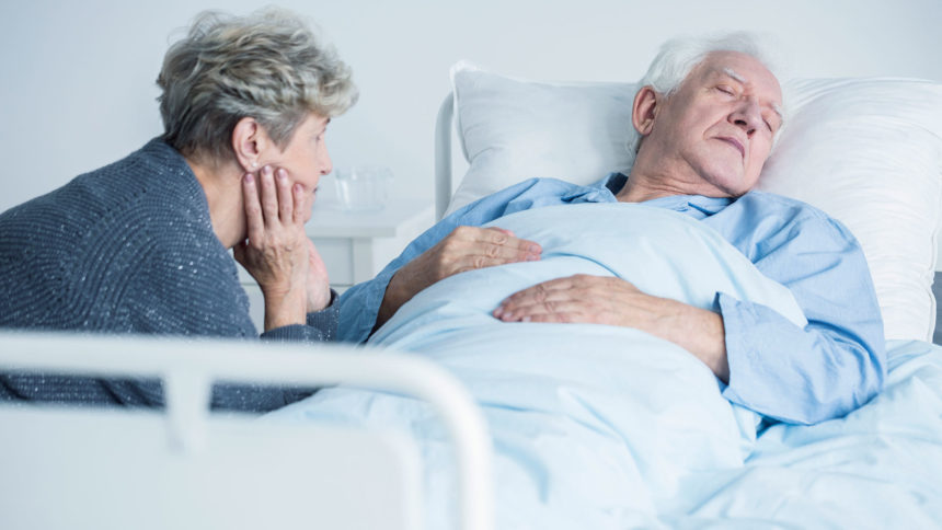 sick elderly person, death with dignity