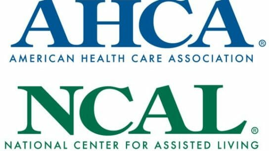 American Health Care Association and National Center for Assisted Living logo