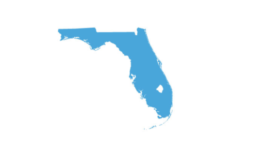 Outline of state of Florida