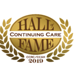 The Continuing Care Hall of Fame logo