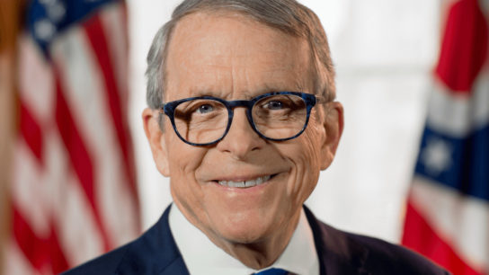 Ohio Gov. Mike DeWine headshot