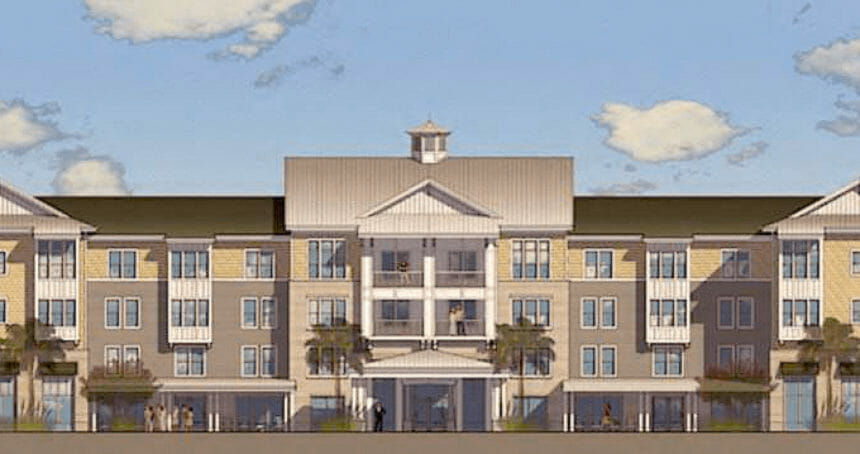 Artist's rendering of the Retreat at Coastal Grand.