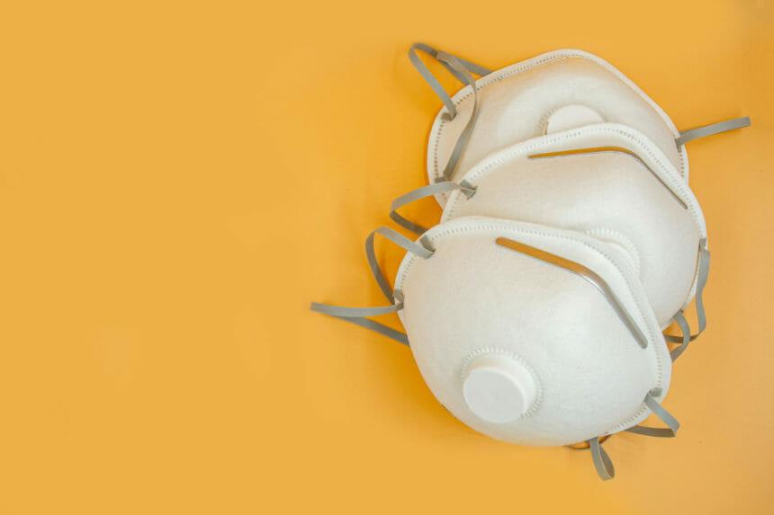 P2 N95 protection respiratory mask