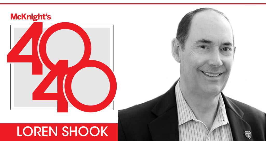 McKnight's 40 for 40: Loren Shook