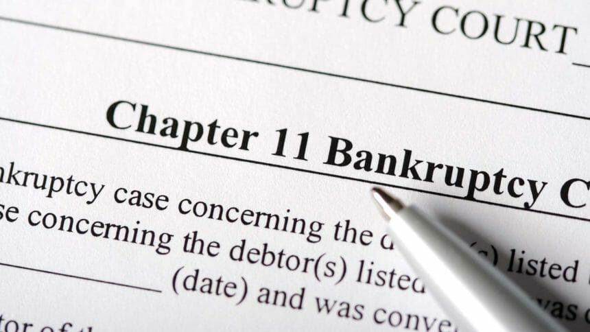 bankruptcy papers