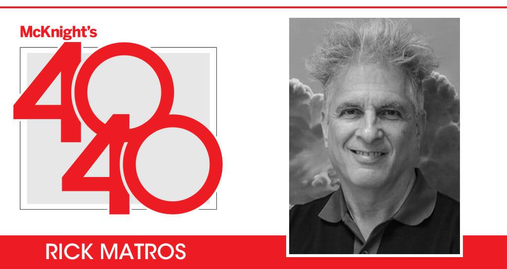 McKnight's 40 for 40: Rick Matros