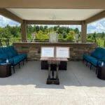 outdoor visitation area