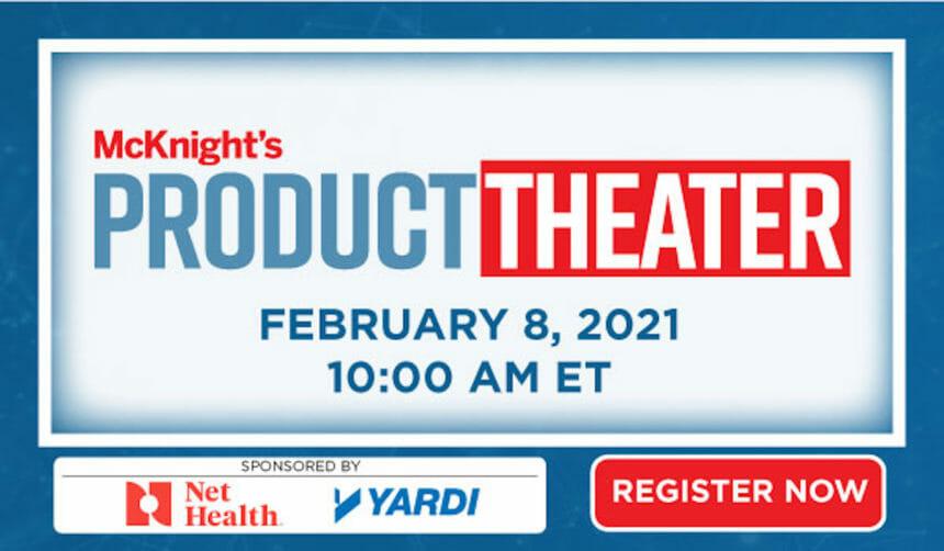 McKnight's Product Theater logo