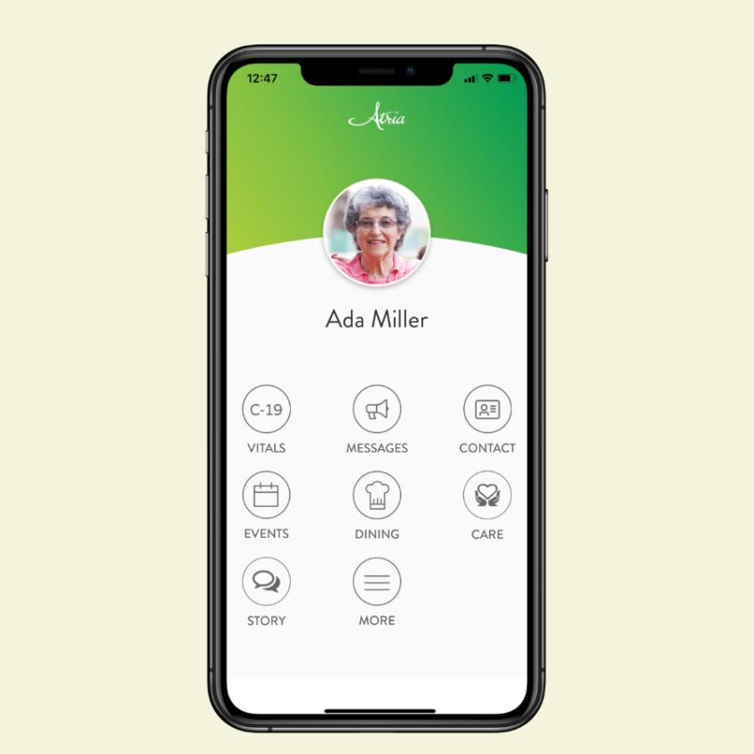 Atria mobile app