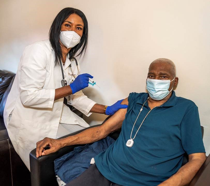 New York PACE program vaccinates 300 seniors at home in two weeks