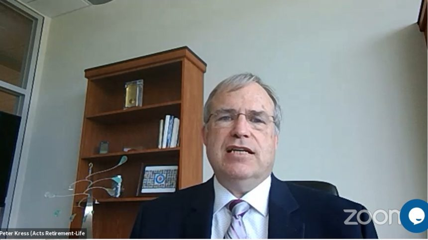 Peter Kress, senior vice president and chief information officer for Acts Retirement-Life Communities
